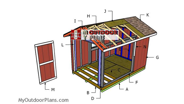 Building-a-8x12-gable-shed