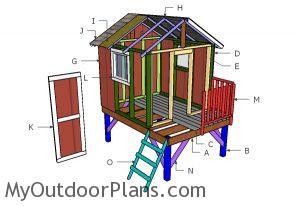 Building a backyard playhouse
