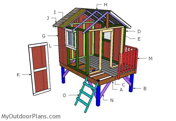 Building a backyard playhouse