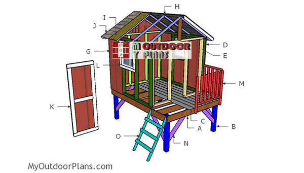 Building-a-backyard-playhouse
