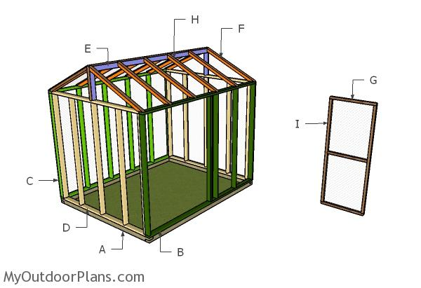 Building a chicken pen