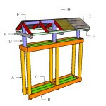 Firewood Stand Roof Plans