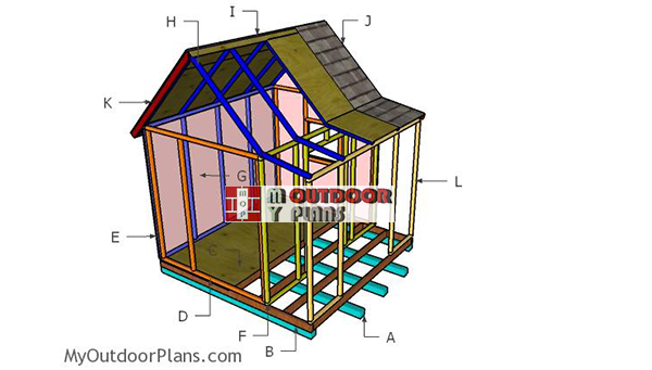 Building-a-kids-playhouse