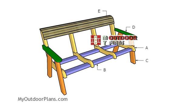 Building-a-outdoor-bench