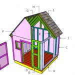 6×6 Simple Playhouse Roof Plans