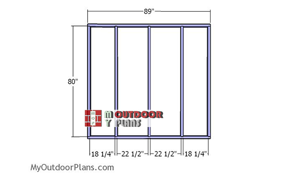 Building-the-back-wall-frame