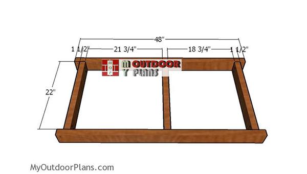 Building-the-bottom-frame