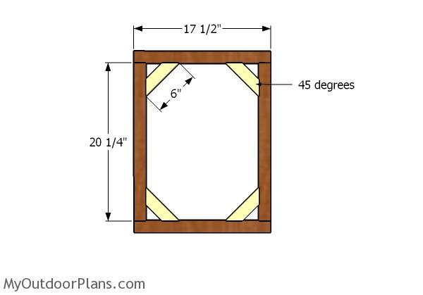 Building the door frame