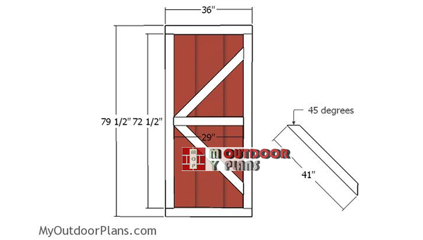Building-the-shed-double-doors