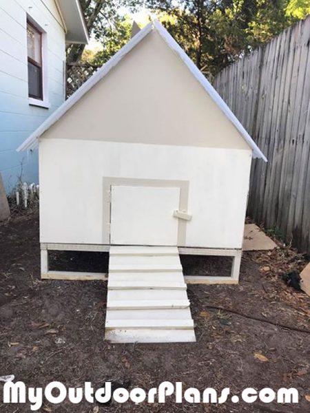 DIY Simple Chicken Coop Plans | MyOutdoorPlans | Free ...