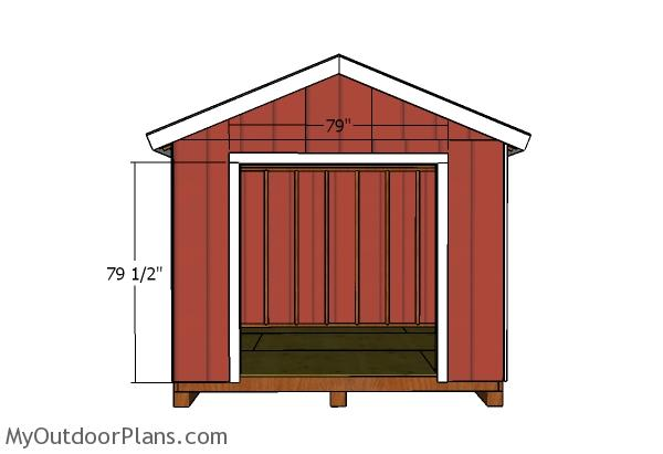 6 Double Shed Doors Plans Myoutdoorplans Free