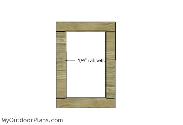 Door rabbets