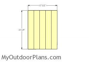 Door slats