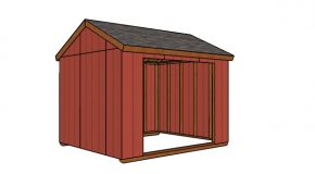 10×12 Field Shelter Plans