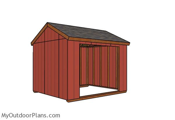 10x12 Field Shelter Plans