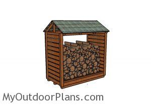 Firewood Shelter Plans