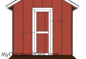 Fiting the door