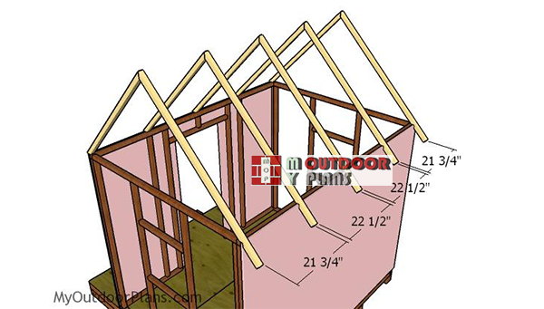 Fitting-the-gable-rafters