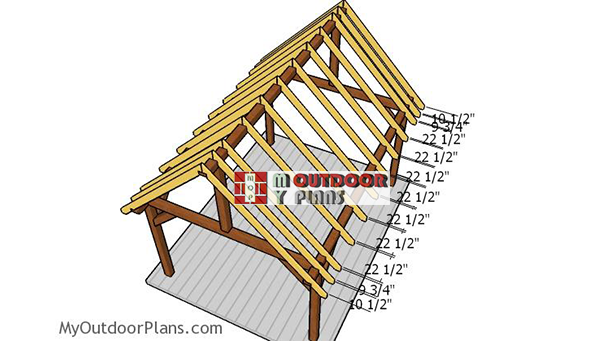 Fitting-the-rafters---gable-pavilion