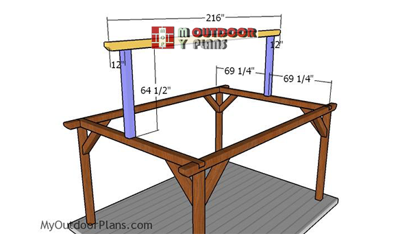 Fitting-the-top-ridge-beam