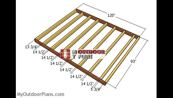 Floor-shed-frame