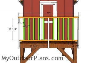 Front rails
