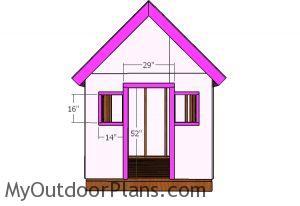 Front window and door trims