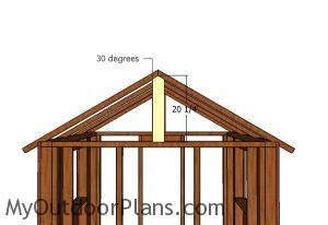 Gable supports