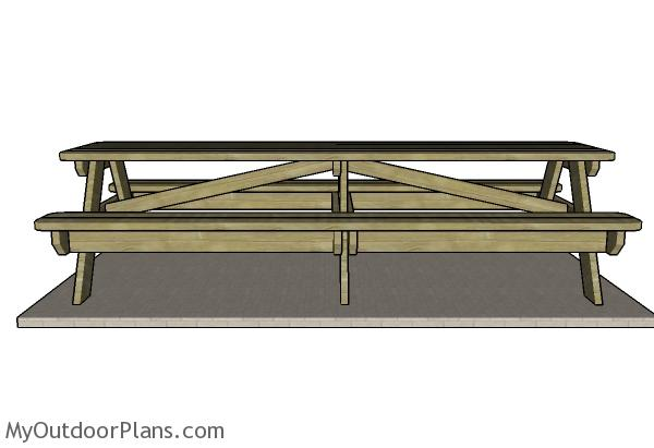 How to build a 10' picnic table