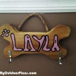 DIY Dog Leash Holder