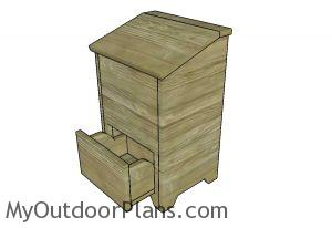 How to build an onion box