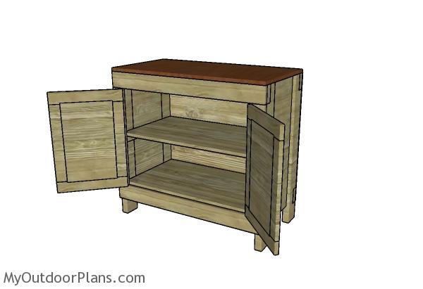 Lathe Cabinet Plans