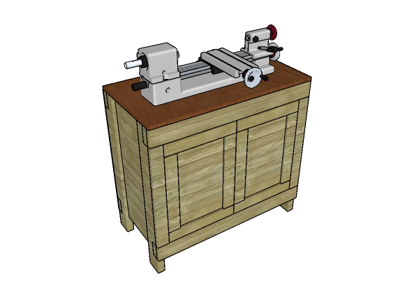Lathe Stand Plans Free
