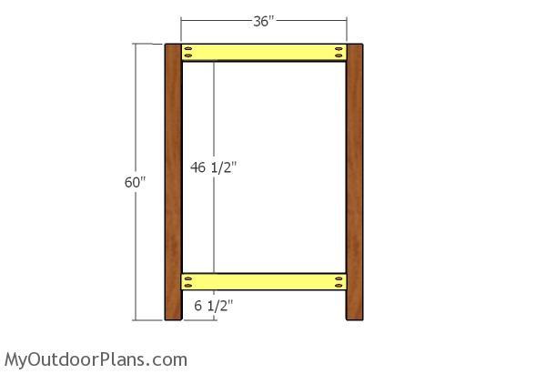 Main panel frame