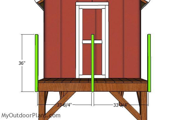 Rail posts