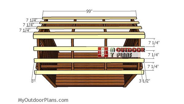 Roof-support-slats