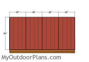 Side wall - Siding