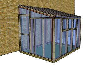 Small lean to greenhouse plans free
