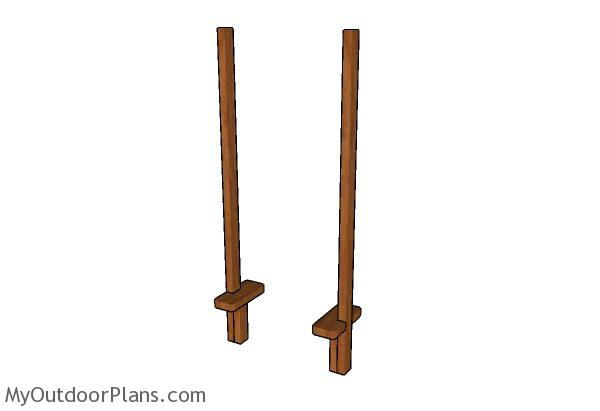 Do It Yourself Home Design: Wooden Stilts Plans