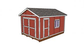 12×16 Storage Shed Plans