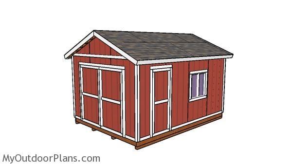 12x16 Storage Shed Plans