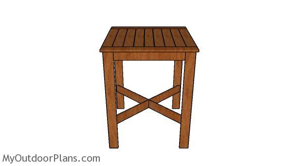 Bar Table Plans