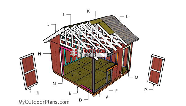 Building-a-14x14-shed