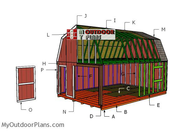 Building-a-16x24-barn-shed