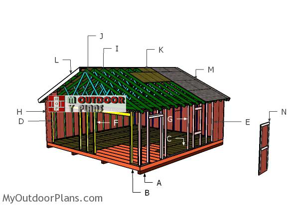 Building-a-24x24-shed-gable-roof