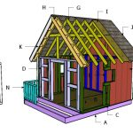 8×8 Playhouse Roof Building Plans