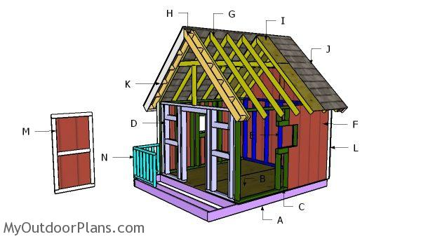 Building a 8x8 playhouse