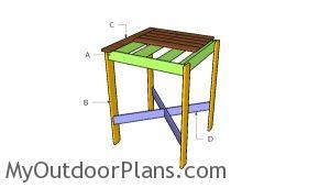 Building a bar table