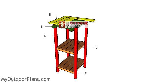 Building-a-bar-table
