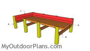 Building a cedar raised garden bed